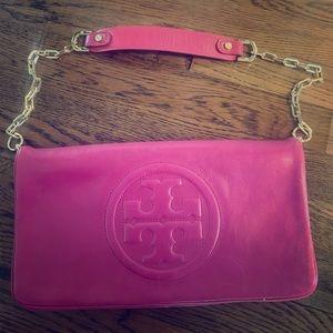 Tory Burch Mauve Pink Shoulder Bag